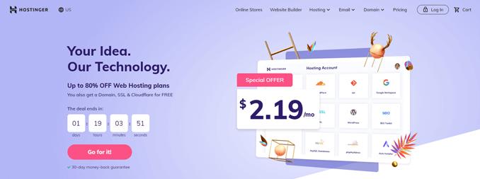 hostinger-cheapest-hosting-provider